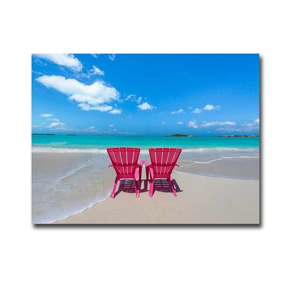 pink beach chair outdoor swivel chairs uk shop artistic home gallery donald paulson x27