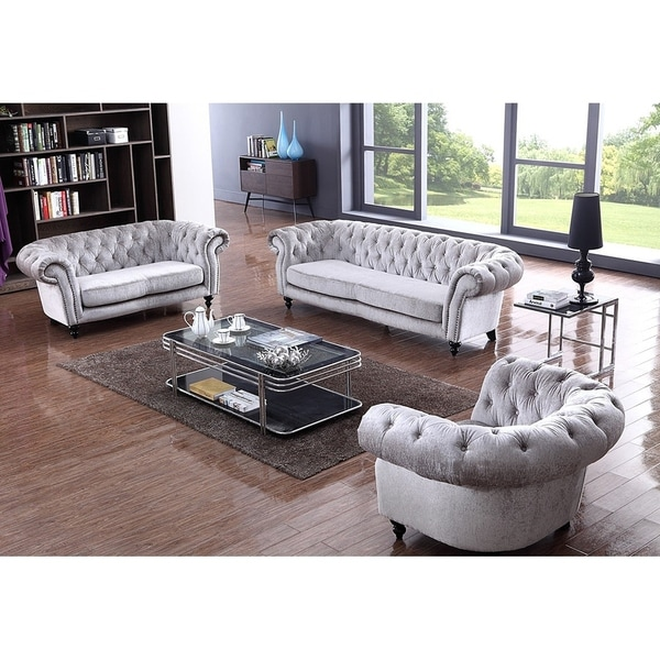 grey living room set small modern ideas shop henderson exquisite light fabric 3 piece