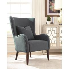Dark Teal Accent Chair Pressed Back Chairs Shop Nivala Chenille Asian Hardwood Metal With Cappuccino Finish On Sale Free Shipping Today Overstock Com 18537063