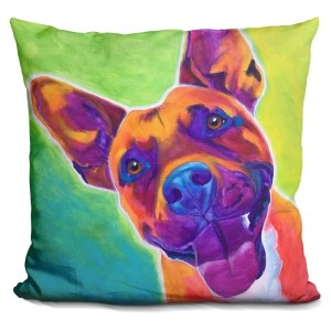 Lilipi Pit Bull - Billy Decorative Accent Throw Pillow