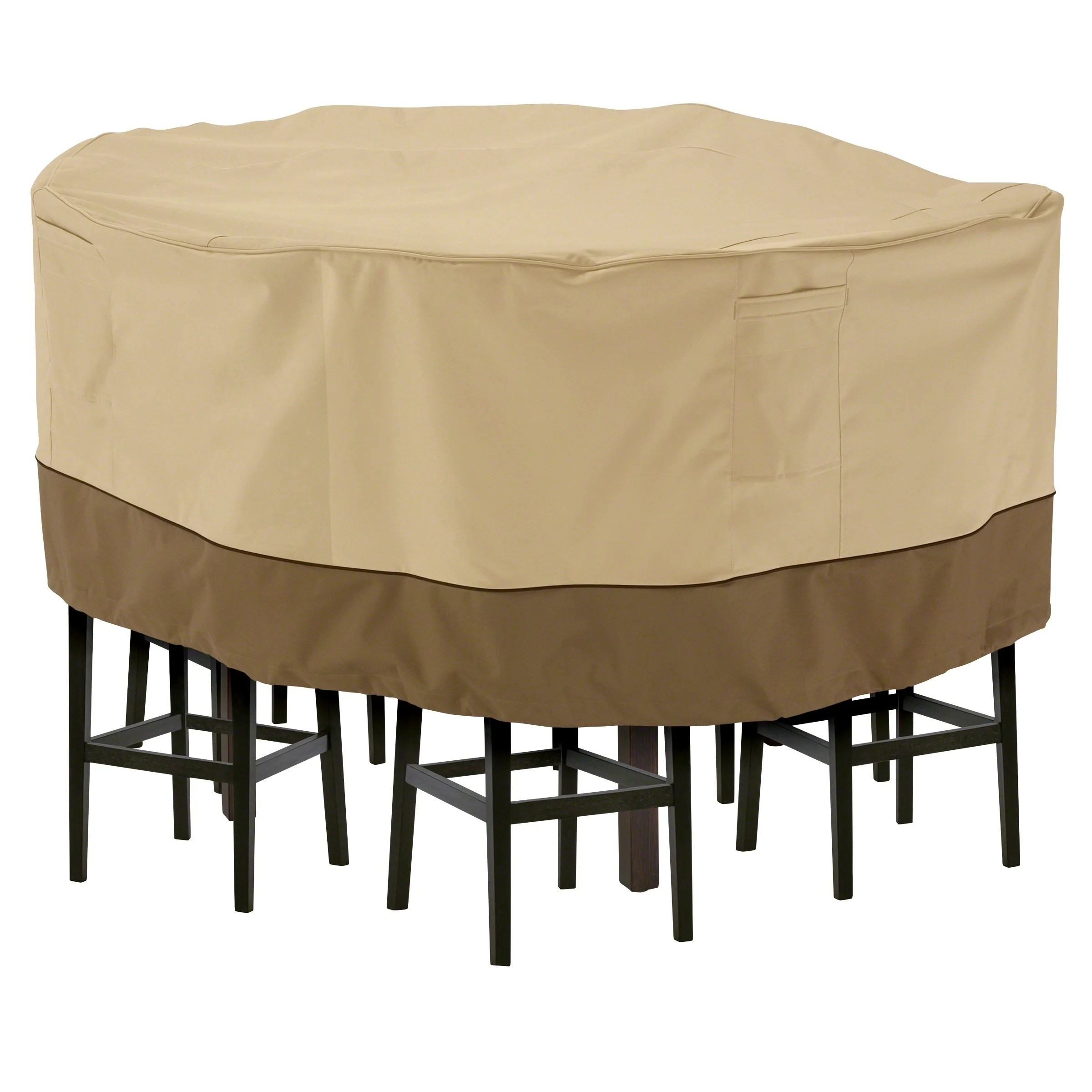 tall patio table and chair cover leather chairs dining room buy furniture covers online at overstock our
