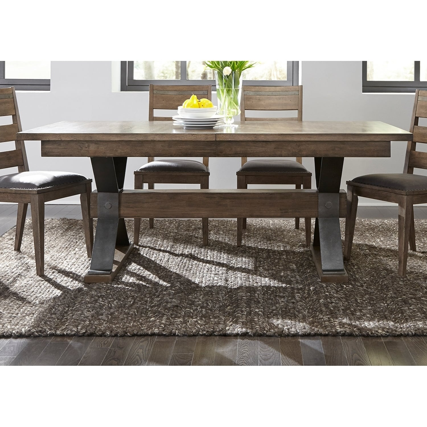 pewter kitchen table and chairs land of nod high chair doll buy dining room tables online at overstock