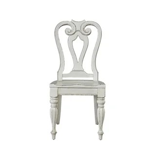 liberty dining chairs tank chair wheelchair buy kitchen room online at overstock com magnolia manor antique white splat back side