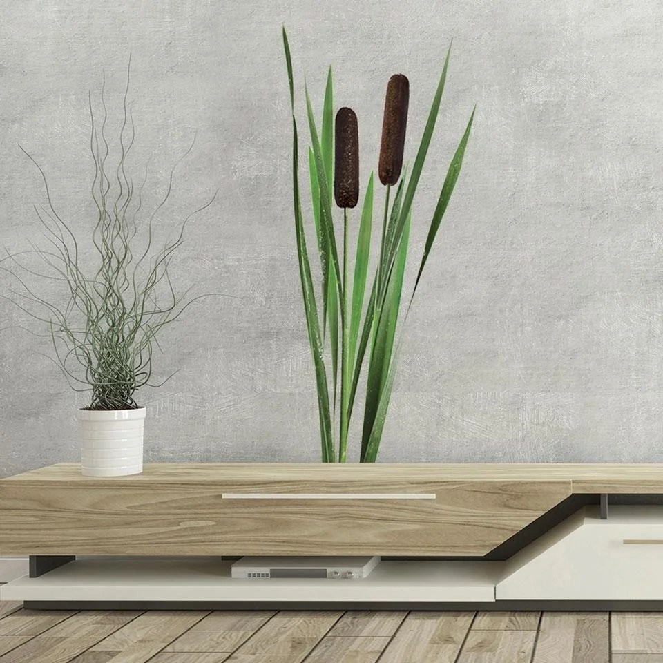 Colorful Reeds Wall Decal
