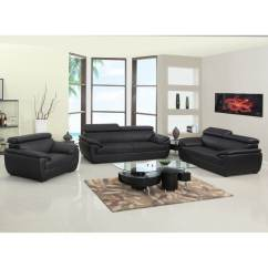 Living Room Furniture Leather And Upholstery Design Shop Gu Match Upholstered 3 Piece Sofa Set