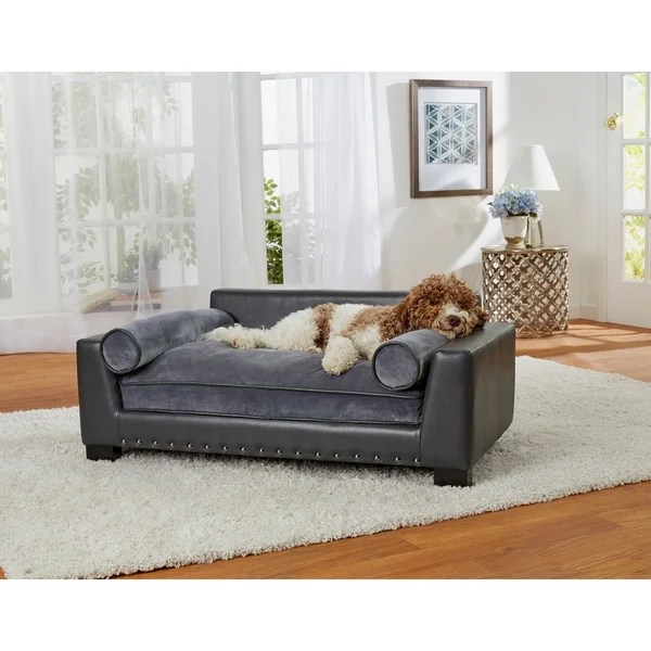 enchanted home mackenzie pet sofa where to buy paint for leather sofas shop skylar free shipping today overstock com 18684070