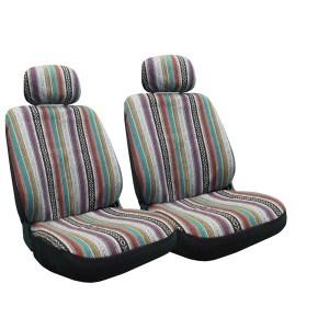 Baja Inca Seat Covers Pair Front Row Saddle Blanket -  VWBeetle