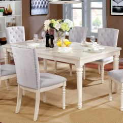 Antique White Living Room Tables Decorating Ideas Art Deco Shop Furniture Of America Gorgenli Classic Distressed Vintage Wood Dining Table