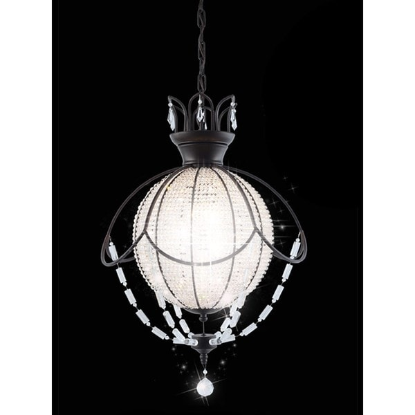 Planet Chandelier 24x35 Brown Free Shipping Today 24892572
