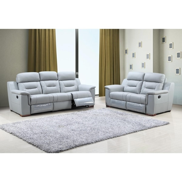 living room furniture leather and upholstery color idea shop walker faux upholstered 2 piece sofa set