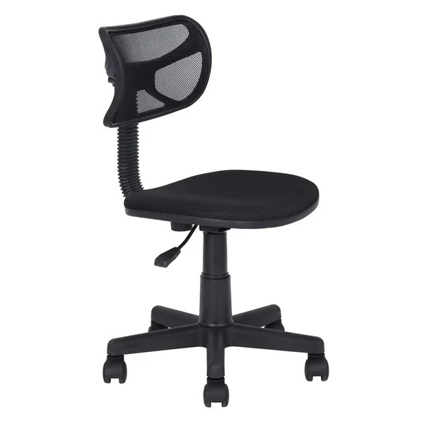 cloth office chairs counter high table and chair sets shop small size mesh without armrest black free shipping today overstock com 18915981