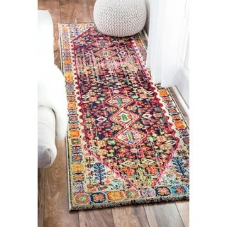Distressed Traditional Flower Persian At