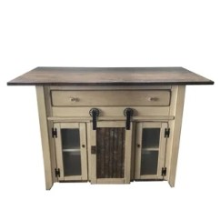 Handmade Kitchen Islands Commercial Supply Buy Online At Overstock Com Our Best Primitive Island In Counter Height With Barn Door