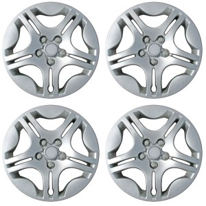OxGord Chrome 15 Inch Wheel Cover Fits 04-08 Chevrolet Malibu - 3238