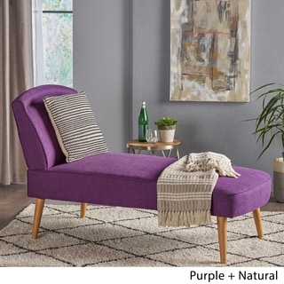 purple chaise lounge chair orange salon buy lounges living room chairs online at overstock carisia mid century modern fabric by christopher knight home