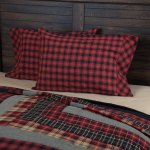 Home Furniture Diy Cushions Plaid Pillow Covers Blue Check Buffalo Plaid Rustic Farmhouse Country New Bortexgroup Com