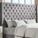 Naples Wingback Button Tufted Tall Headboards By Inspire Q Artisan Overstock 19511535