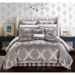 Chic Home 13 Piece Felicci Faux Silk Comforter Set Bed In A Bag Overstock 19524061