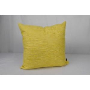 Front Porch Pew Prisma Sunshine Yellow Sunbrella 20-inch Indoor/Outdoor Throw Pillow