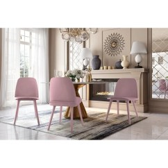 Purple Dining Chairs Canada Stressless Chair Repair Parts Shop Cosmo Pink Set Of 2 Free Shipping Today Overstock