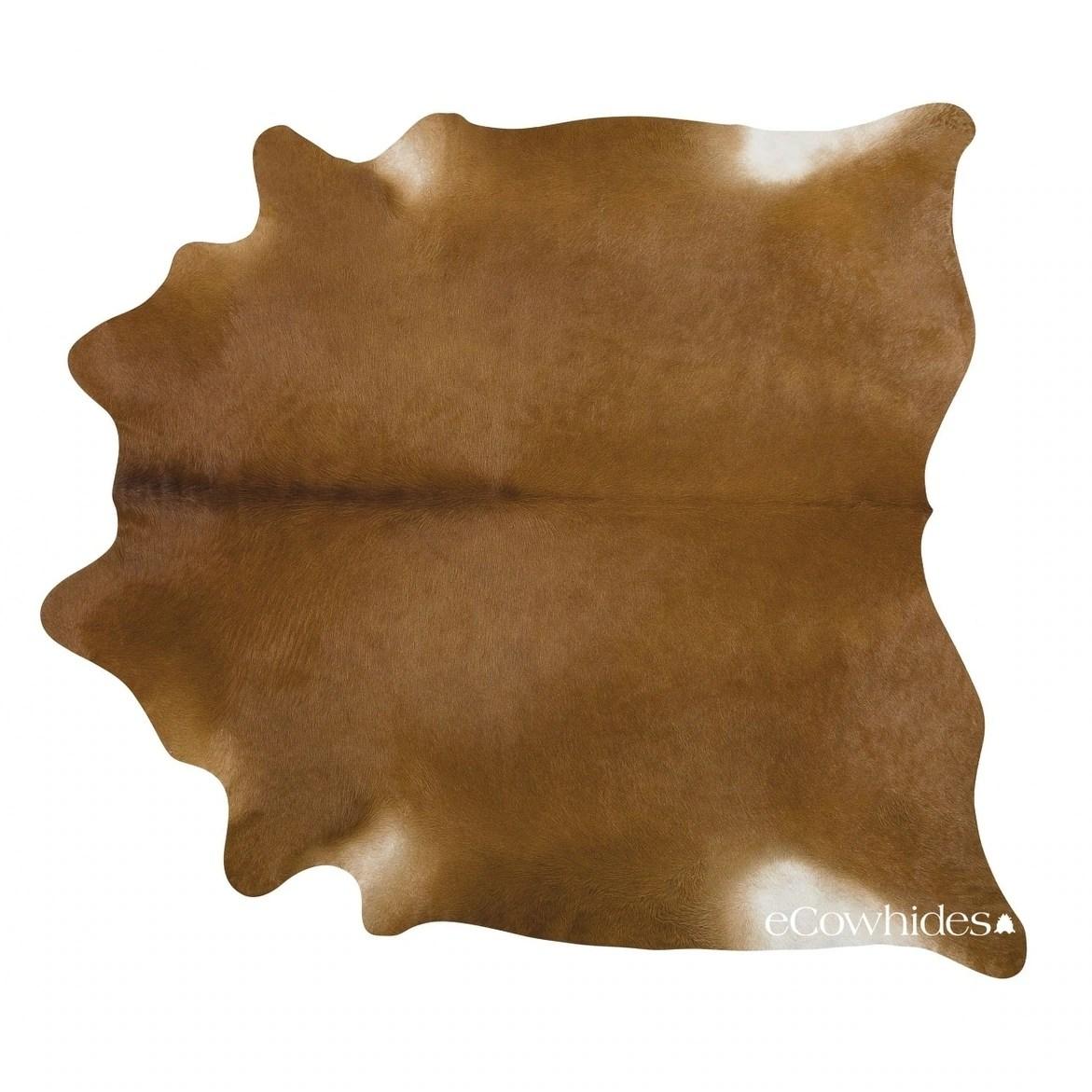 Pergamino Brown Cowhide Rug Xlarge N A