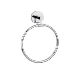 Maykke Xander Towel Ring, Polished Chrome
