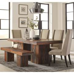 Upholstered Chairs For Dining Room Ergonomic Chair Germany Shop Modern Bold Design Sheesham Wood Set With And Bench Free Shipping Today Overstock Com 19883729