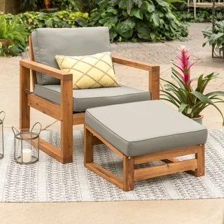 outdoor chair and ottoman wicker indoor chairs sets patio furniture find great seating dining deals shopping at overstock com
