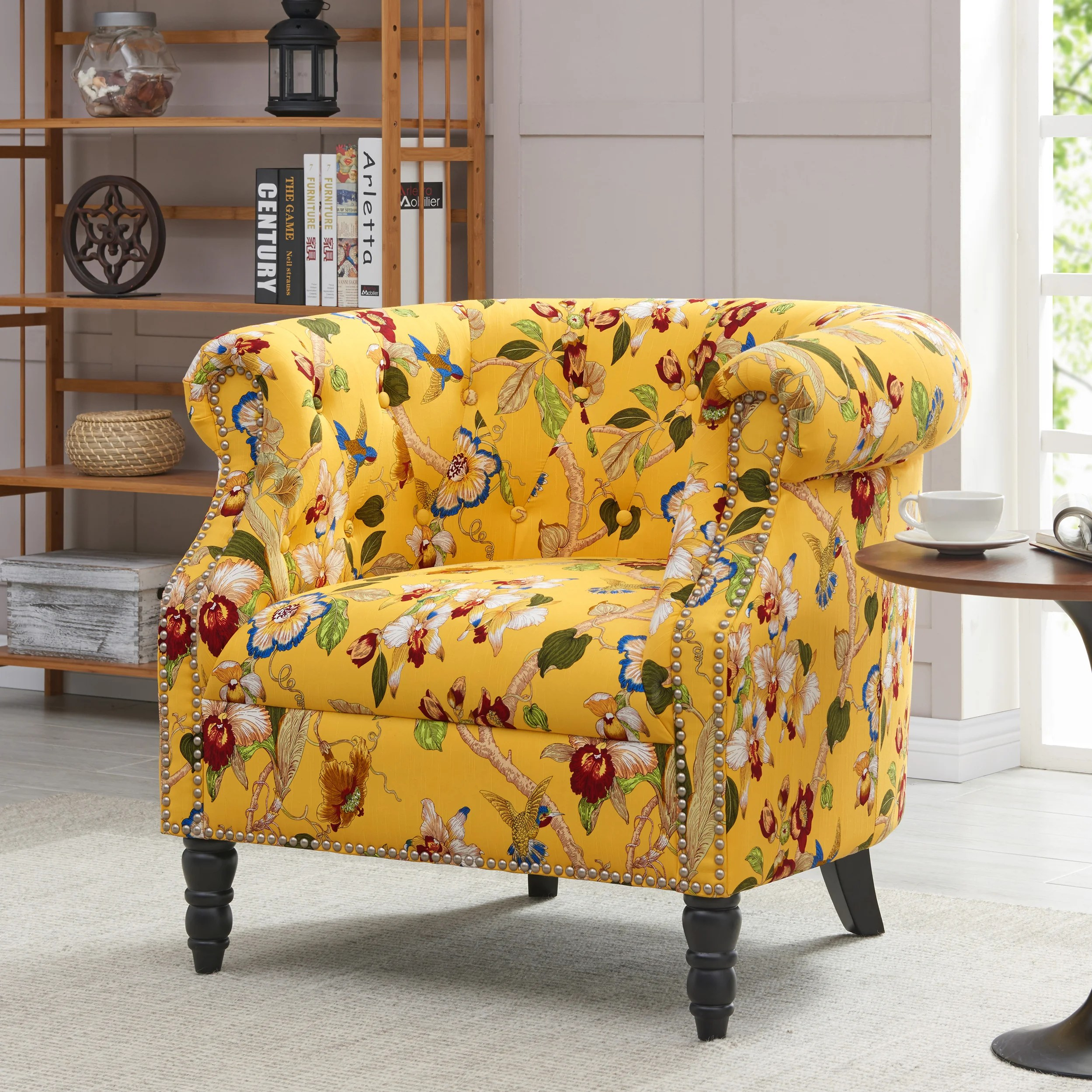 Yellow Living Room Chair Buy Accent Chairs Yellow Living Room Chairs Online At Overstock