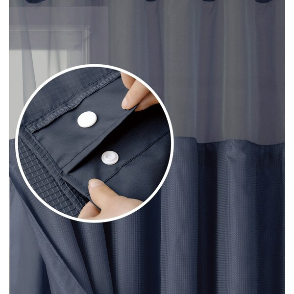 den roycroft hotel shower curtain