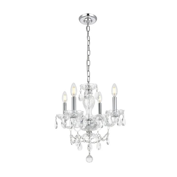 Shop Princeton 4-Light 17 in. Pendant with Royal Cut