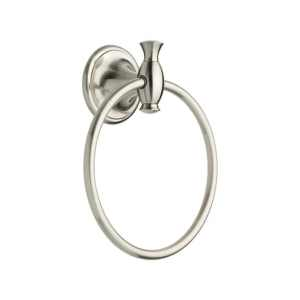 Delta  Meridian  Satin Nickel  Towel Ring  Zinc