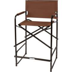 Tall Director Chair Bath For Disabled Shop 43 Steel Folding S By Trademark X27 Innovations