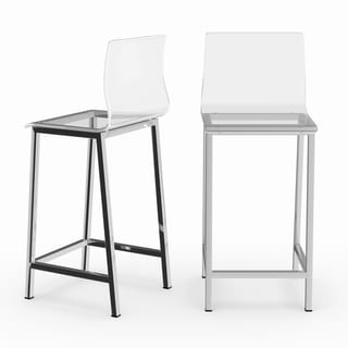 ghost chair bar stool overstock office chairs buy clear counter stools online at com our best dining room furniture deals