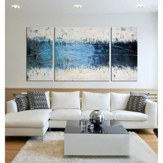 paintings for living room with dark blue couch art gallery shop our best home goods deals online at overstock com