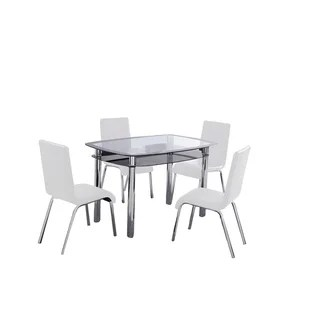 white table chairs massager for chair buy kitchen dining room sets online at overstock com our best bar furniture deals