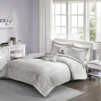Shop Intelligent Design Liv Grey/ Silver Metallic 5-piece ...