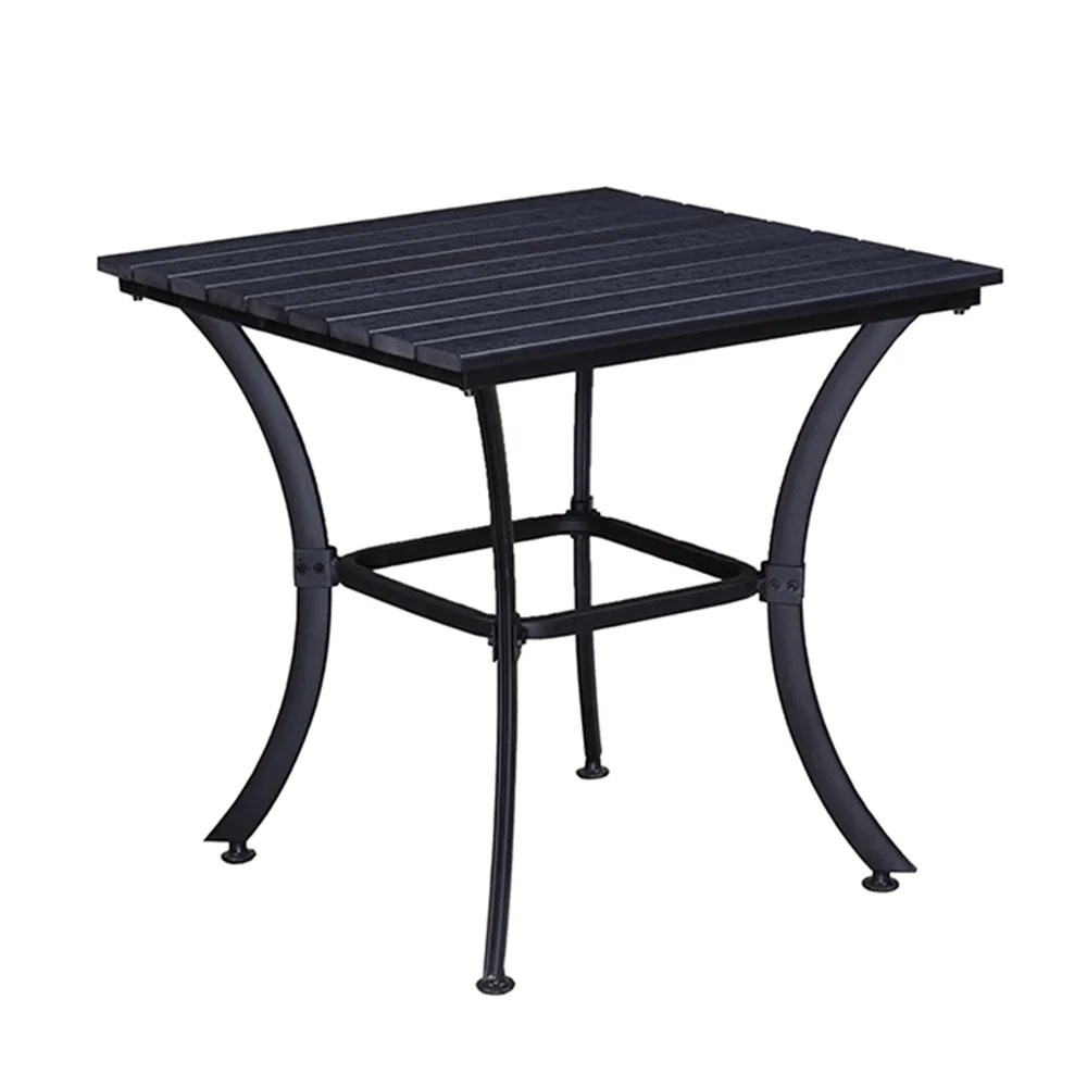 buy black outdoor dining tables online