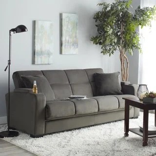 settee living room wicker chair buy sofas couches online at overstock com our best copper grove jessie grey velvet convert a couch futon sofa sleeper
