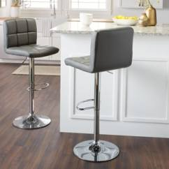 Stool Under Chair Modern Chairs For Bedroom Buy Counter Bar Stools Online At Overstock Com Our Best Dining Porch Den Galena Chrome And Faux Leather Height Adjustable Barstools Set Of 2