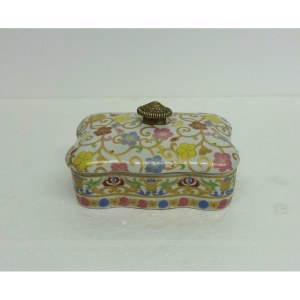 Candyvine Pillow Porcelain Cover Box