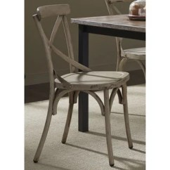 Distressed Kitchen Chairs Wrought Iron Buy Green Dining Room Online At The Gray Barn Santa Rosa Metal X Back Side Chair