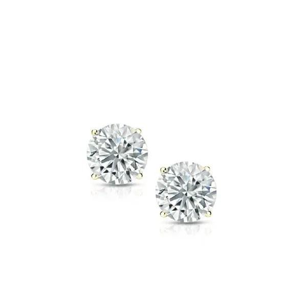 Shop Pori Jewelers 14K Solid Gold Birthstone Round-cut