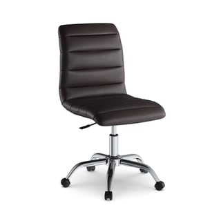 desk chair brown leather swing outdoor bunnings buy office conference room chairs online at overstock com porch den bancroft mid back