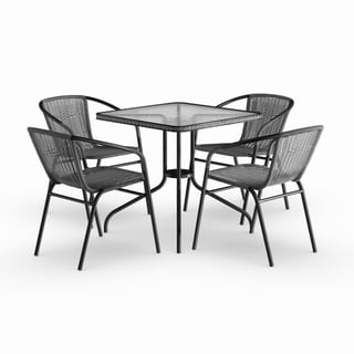 metal chairs and table rentals tables patio furniture find great outdoor seating dining deals shopping at overstock com