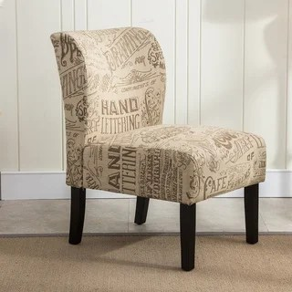 brown slipper chair the time out buy living room chairs online at overstock com our curated nomad pavilion upholstered armless accent