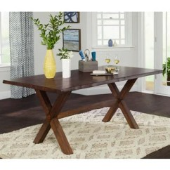 Farmhouse Kitchen Tables Tap Buy Dining Room Online At Overstock Com Simple Living Mandeville Live Edge Solid Wood Table Walnut