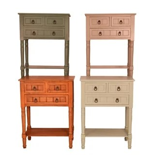 living room console small wood design tables furniture find great deals simplify 3 drawer table