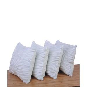 Serenta EmbossedMink 4 Pcs Throw Pillow Cushion Case Cover Shell Set