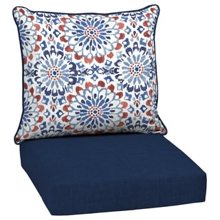 cheap chair cushions outdoor makeup buy pad pillows online at overstock com our best patio furniture deals